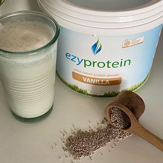 Ezy Protein Vanilla Chia Smoothie
